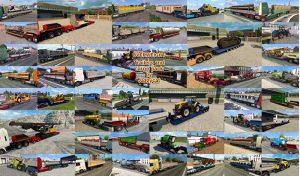 کامیون پک Overweight Trailers and Cargo برای یورو تراک 2