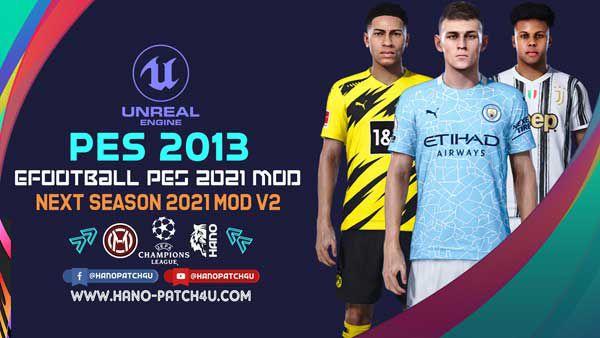 ماد گرافیکی eFootball PES 2021 v2