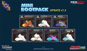 پک کفش MINI BOOTPACK UPDATE V1.2 برای PES 2017