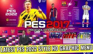ماد گرافیکی LATEST PES 2022 STYLE HD برای PES 2017