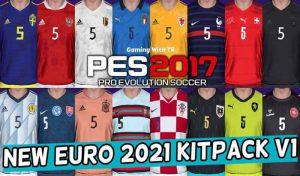 کیت پک EURO 2021 KITPACK V1 برای PES 2017
