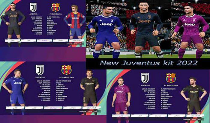 کیت Juventus 2022