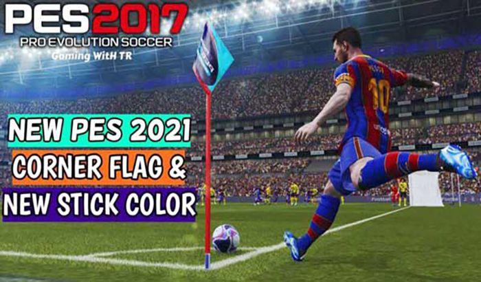 ماد گرافیکی PES 2021 Corner Flag