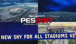 ماد گرافیکی Sky v2 برای PES 2017 توسط TR