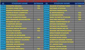 استادیوم پک The Last AK Stadium Pack 2021 AIO برای PES 2017