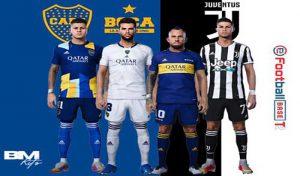 کیت Boca Juniors & Juventusبرای PES 2021