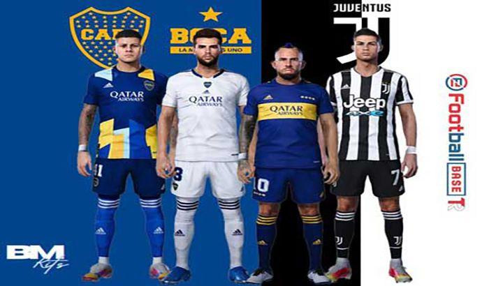 کیت Boca Juniors & Juventus