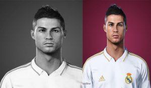 فیس Cristiano Ronaldo 2011 برای PES 2021