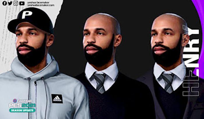 فیس مربی Thierry Henry