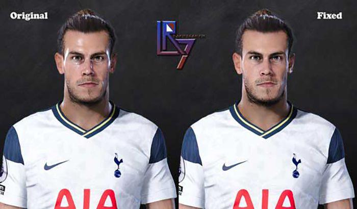 فیس Gareth Bale
