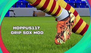 ماد گرافیکی Grip Sox برای PES 2021 توسط Hoppus 117