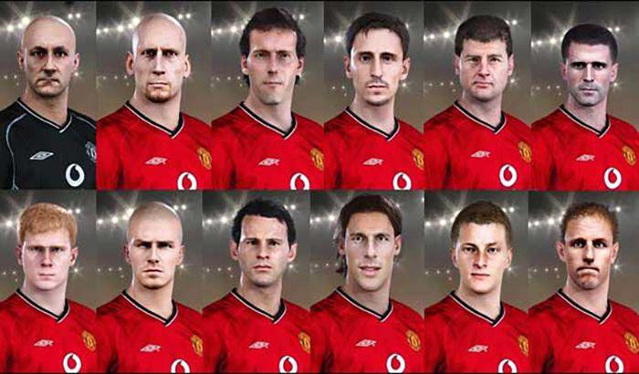 فیس پک کلاسیک Manchester United