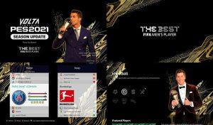 ماد گرافیکی FIFA Best Players برای PES 2021 توسط PES Newupdate