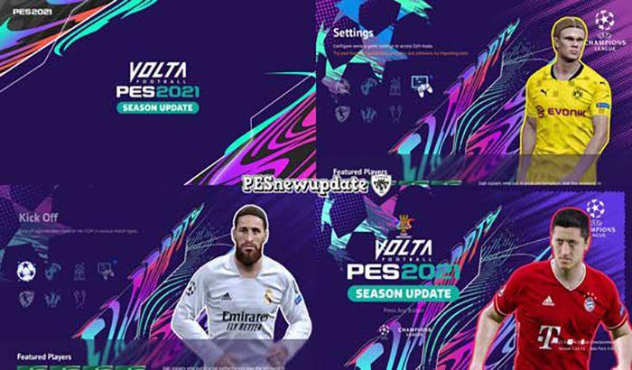 ماد گرافیکی UCL x Volta