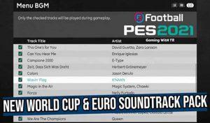 موزیک World Cup & Euro برای PES 2021 توسط SoulBallZ