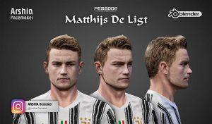 فیس Matthijs de Ligtبرای PES 6 توسط Arshia Facemaker