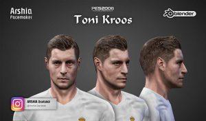 فیس Toni Kroosبرای PES 6 توسط Arshia Facemaker