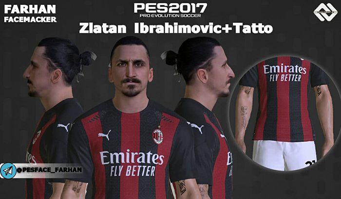 فیس و تتو Zlatan Ibrahimović