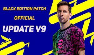 دانلود پچ Black Edition Patch 20/21 برای PES 2017 + آپدیت جدید V9