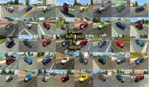ماشین پک Brazilian Traffic v3.0 برای یورو تراک 2