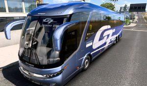 اتوبوس Marcopolo G7 1200 6×2 Facelift برای یورو تراک 2