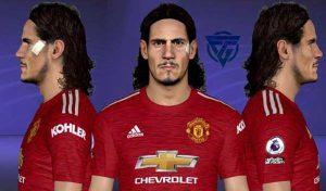 فیس Cavani Manchester United برای PES 2017