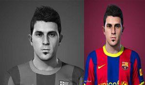 فیس David Villa 2010 برای PES 2021 توسط Lucas