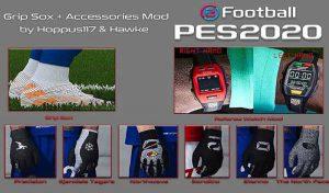 ماد گرافیکی Grip Sox Accessories برای PES 2021 توسط Hoppus 117