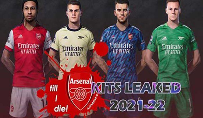 کیت Arsenal Leaked 2021-22