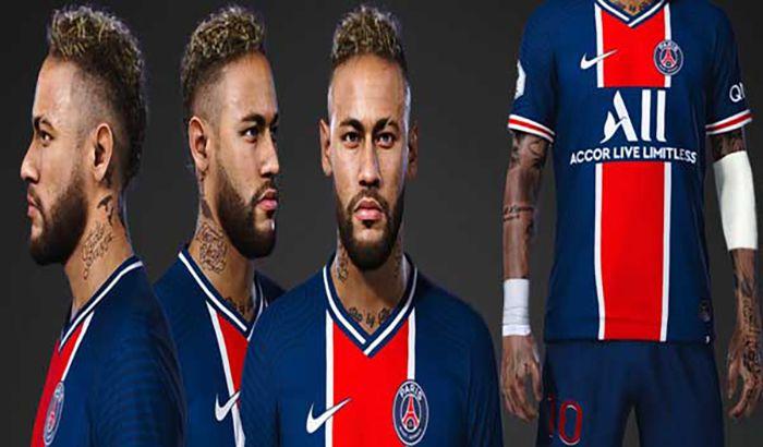 فیس و تتو Neymar with Tattoo Elbow pad