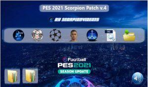 پچ Scorpion Patch Versione 4.0 برای PES 2021
