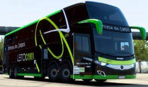 اتوبوس Marcopolo Paradiso New G7 1800 DD V7 برای یورو تراک 2
