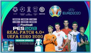 پچ Real Patch 4.0+ UEFA EURO 2020 برای PES 2013