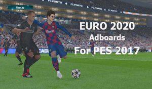 ادبورد EURO 2020 برای PES 2017 توسط Predator002