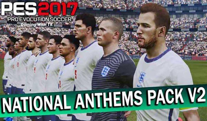پک سرورد تیم های ملی National Anthems v2