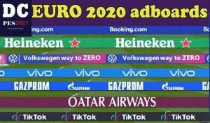 دانلود ادبورد Uefa Euro برای PES 2017 توسط PES Mods2021