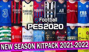 کیت SEASON KITPACK 2021-2022 برای PES 2020 – مخصوص پچ اسموک PES 2020