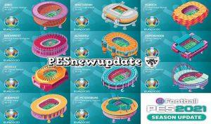 پیش نمایش استادیوم EURO 2020 برای PES 2021