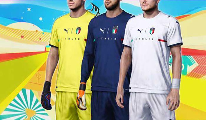 کیت تیم ملی Italy NT 2022
