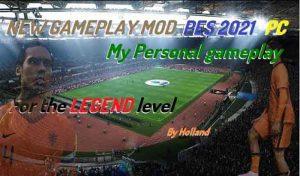 دانلود گیم پلی My Personalبرای PES 2021 ورژن 1.07.00