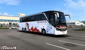 اتوبوس Setra S517Hdh Topclass-2021 v1.0 برای یورو تراک 2