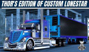 کامیون Thor's Edition Custom Lonestar برای آمریکن تراک 2