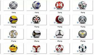 توپ پک 46 balls mod برای FIFA 21