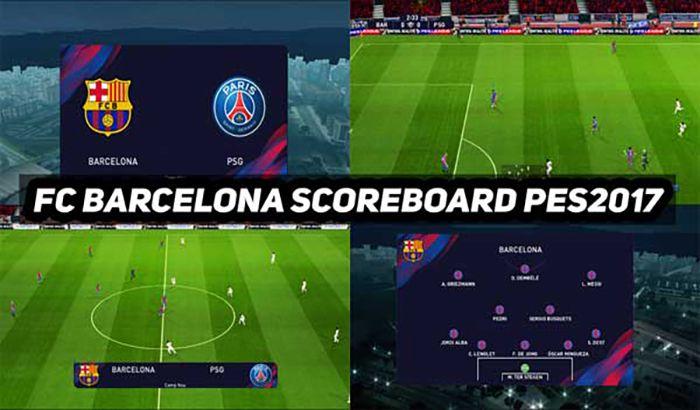 اسکوربرد FC Barcelona