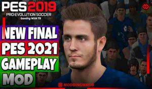 دانلود گیم پلی Official PES 2021 Final برای PES 2019