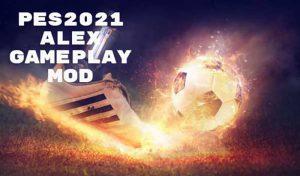 گیم پلی Alex Gameplay Mod V2 برای PES 2021