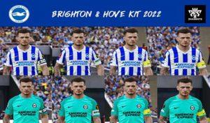 کیت پک تیم Brighton & Hove Albion برای PES 2021