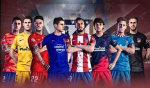کیت پک Atletico Madrid 2021-22 برای PES 2021