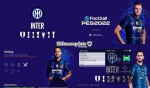 منو گرافیکی Inter FC 2021/2022 برای PES 2021