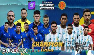 فیس پک New Champion برای PES 2021